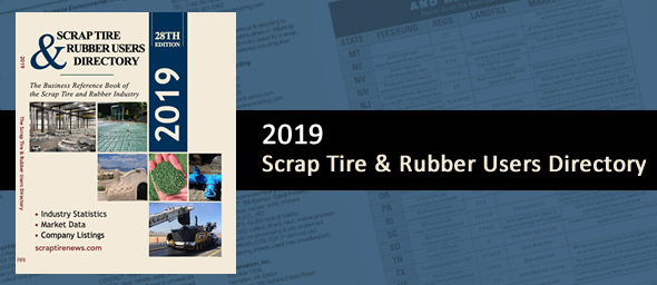 2019 Scrap Tire And Rubber Users Directory