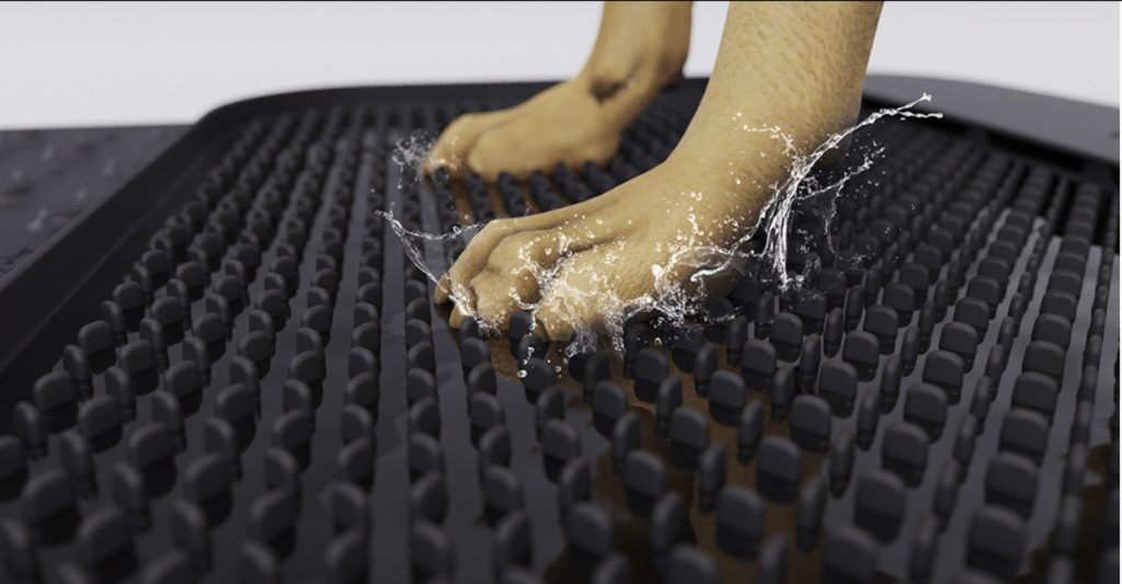 PetPaws rubber mat