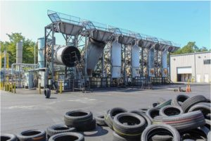 Tire Pyrolosis Plant
